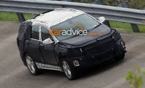 cadillac minivan 2017 2017 holden captiva spied testing in chevrolet guise photos 1