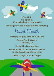 airplane baby shower airplane baby shower invitations candles and favors