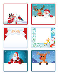 santa u0027s little gift to you free printable gift tags and labels