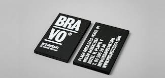tarjeta de visita diseo 25 diseños de tarjetas de visita de restaurantes para tu inspiración