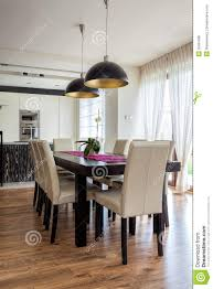 urban apartment dining room royalty free stock photos image