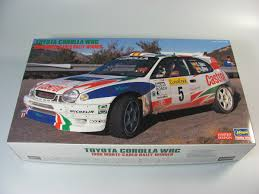 toyota rally car toyota corolla 1998 mc rally winner hasegawa car model kit com