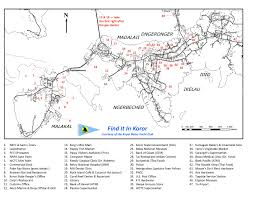 Palau Map Royal Belau Yacht Club Map Of Koror