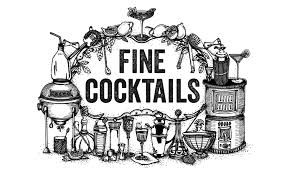 cocktail clipart black and white fine cocktails u2013 pond design