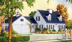 cape cod house plans with attached garage cupolas a architectural feature for a mid century house