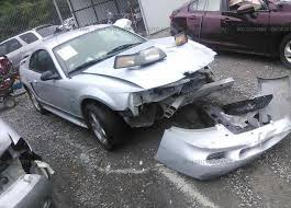 Black Mustang Crash 1zvht82h455141799 Salvage Certificate Black Ford Mustang At