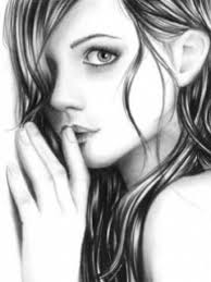 photo collection beautiful girls drawing wallpapers