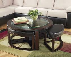 round glass coffee table decor furniture round wooden based glass coffee table decorating ideas