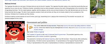 Wikipedia Meme - meme sort of the wikipedia page of uganda vrchat