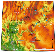Map Of Arizona And Nevada by The Long And Winding Road The Geology 310 Field Course 2016 The