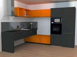 mur de cuisine armoire de cuisine en bois blanc chaise ée et blanche