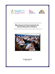 manual para el funcionamiento de los centros educativos publicos 2010
