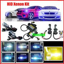 hid fog light ballast bi xenont hid kit 3000k fog light dual beam 9004 9007 h4 bulb