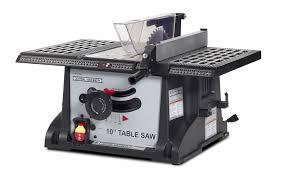 Craftsman Portable Table Saw Table Saw Vs Miter Saw