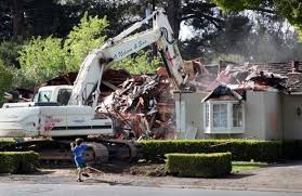 in the bay area million dollar homes are torn down to start fresh