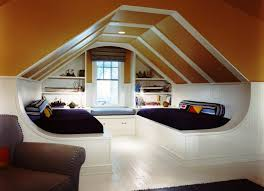 Sloped Ceiling Bedroom Decorating Ideas Bedroom Decor Girls Loft Bed Using Attic Space Vaulted Ceiling