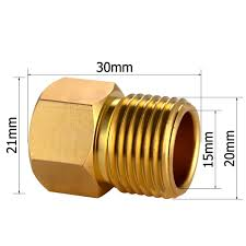 Female To Female Faucet Adapter Europe Asian Faucet Supply Line Adapter 1 2
