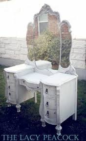 Antique White Bedroom Vanity Antique White Vanity Table Foter