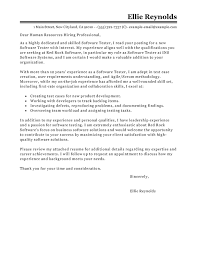 Email Resume Cover Letter Sample by Best Software Testing Cover Letter Examples Livecareer