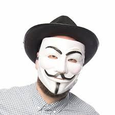 anonymous mask fawkes mask or anonymous mask
