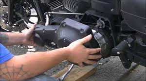 2005 harley dyna fxdx starter replacement youtube