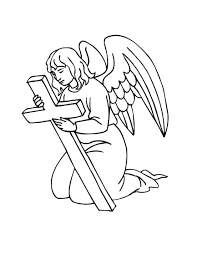 printable angel coloring pages coloring