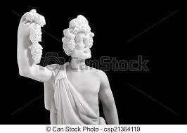 dionysus greek god statue ancient greek gods dionysus was the god of the grape stock