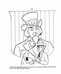 Free Us History Coloring Page War Sts World War Ii Yankee Doodle Coloring Page 2