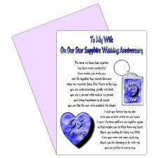 65 wedding anniversary buy husband 65th wedding anniversary card with removable keyring