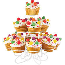 3 tier cupcake stand wilton 3 tier cupcake and treat stand 13 ct walmart