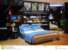 Modern Home Furniture Bedroom Bed Mattress Shop Trendy Bedroom Editorial Photo Image 59131256