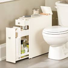Bathroom Furniture For Small Spaces This Narrow Stylized Bath Cabinet Is Thin Enough To Fit In That