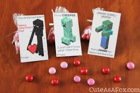 minecraft valentines 12 minecraft cards and ideas spaceships and laser beams