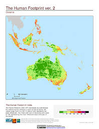 Map Of Oceania Maps Last Of The Wild V2 Sedac