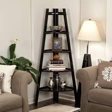 White Ladder Shelves by Ladder Shelves Home Design By Fuller