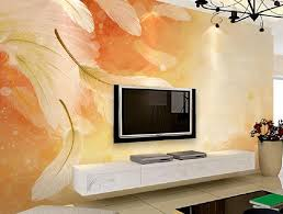 room design wallpaper living room tv wall design with feather