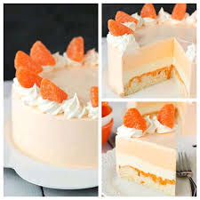orange creamsicle ice cream cake u2013 tomato hero