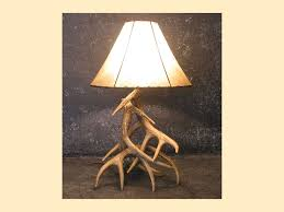 Whitetail Deer Home Decor by Whitetail Three Antler Table Lamp Southern Creek Rustic Furnishings