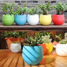 ceramic garden planters fabulous green salt glazed ceramic garden
