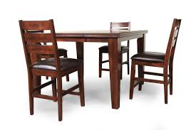 ashley larchmont five piece pub set mathis brothers furniture