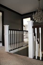 Replace Stair Banister Remodelaholic Curved Staircase Remodel With New Handrail