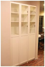 kitchen pantry furniture ikea easy diy freestanding pantry with doors from a billy bookcase