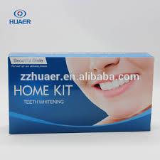 teeth whitening kit with led light huaer brand dental supply laser teeth whitening kit with mini led