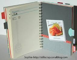 cahier de cuisine à remplir livre de recettes still scrap de soph