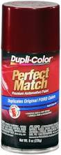 amazon com dupli color bfm0373 dark toreador red ford exact match