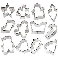 wilton 18 pc metal cookie cutter set 2308