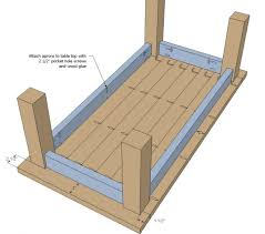 Adirondack Coffee Table - coffee table simple free diye table plans for shaker woodworking
