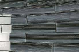 dark gray black 2x12 subway glass tile for kitchen backsplash or 2x12 glass tile kitchen bathroom tile black gray