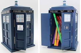 Desk Tidy Set The Monster Factory Tardis Desk Tidy U2013 Merchandise Guide The