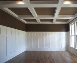Wainscoting Office Wainscoting Craftsman Style Contrast Windsorone